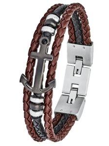 s.Oliver 2024252 Herren Armband Edelstahl Silber 21,5 cm