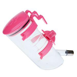 1 Stück Haustier Trinkflasche , Farbe Rosa