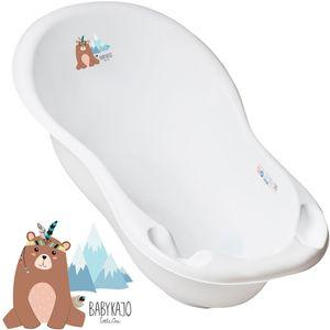 Babykajo Babybadewanne 86cm - Baby Wanne mit Stöpsel - Badewanne für Neugeborene