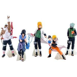 5 Stück/Set 12cm Anime Naruto 32 Generation PVC Modell Karikatur Figurenspielzeug Ornamente Action Figure