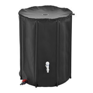 [casa.pro]® Regentonne - 500L Regenwassertank Wassertank Regenwasserfass Zisterne