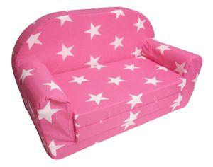 Kindersofa klappbar pink Kindercouch Kinderzimmermöbel Spielsofa Sofa Couch