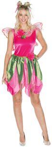 Waldfee Kleid mit Flügeln, Groesse:38