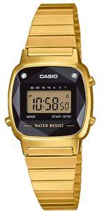 Casio Damenuhr LA670WEGD-1EF Collection digital Armbanduhr Geschliffenes Uhrenglas