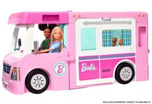 MATTEL Barbie 3-in-1 Super Abenteuer-Camper mit Zubehör GHL93 - Neu /