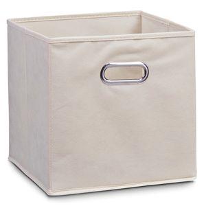 Zeller Aufbewahrungsbox, beige, Vlies 28x28x28