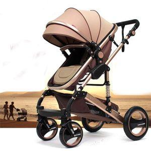 """Kinderwagen """"California"""", 3 in 1 Kombikinderwagen inkl. Babywanne, Sportwagen & Zubehör,  nach der Sicherheitsnorm EN1888, Buggy, Beige"""