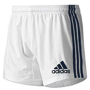 adidas Herren Climacool 3 Steifen Base Short Gr.8 weiß-blau (P00705)