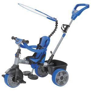 Little Tikes Dreiräder Kinder 4-in-1 Driewieler Jungen Blau