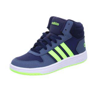 adidas Core Kinder Sport Freizeit Schuhe HOOPS MID 2.0 K legend ink, Größe:39