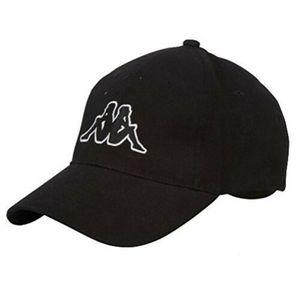 Kappa Uni Cap Basecap Kappe Base-Cap Mütze Schwarz