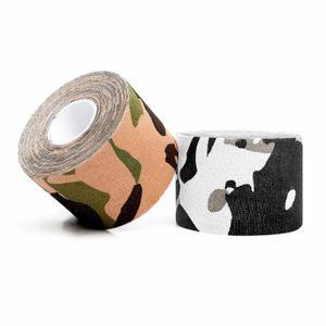 1x Kinesiologie-Tape 2,5cm / Länge ca. 5m - sehr hohe Klebekraft, hautverträglich & sehr guter Tragekomfort Farbe : Tarn/ Länge ca. 5m - sehr hohe Klebekraft, hautverträglich & sehr guter Tragekomfort Farbe Dschungel