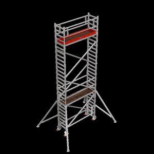 Krause STABILO FahrGerüst Serie 1000, Feldlänge 2,50 m, Arbeitshöhe ca. 8,30 m