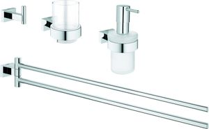 Grohe Bad-Set 4 in 1 CUBE ESSENTIALS chrom
