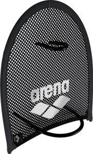 arena Flex Handpaddel black-silver Größe M