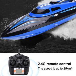 H100 143/5000 2,4GHz Fernbedienung 4-Kanal 25 km/h RC Boot Rennboot Sportboot Speedboat Schiff