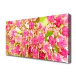 Tulup Leinwand-Bilder 100x50 Wandbild Canvas Kunstdruck Blüten Blumen Pflanzen