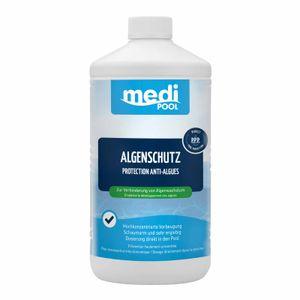 mediPOOL Algenschutz, Algenverhütung, Algenvernichter, Algenschutzmittel, Wasserpflege Inhalt:1 Liter