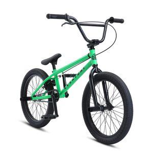 SE Bikes Everyday 20 Zoll BMX Rad Oldschool Bike Fahrrad Street Freestyle, Farbe:grün
