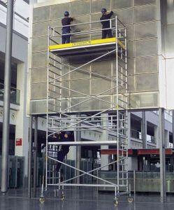 ZARGES RollMaster 2T - LM-Fahrgerüst Fahrbalken Arbeitshöhe 8,60 m