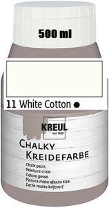 KREUL Chalky Kreidefarbe White Cotton 500ml