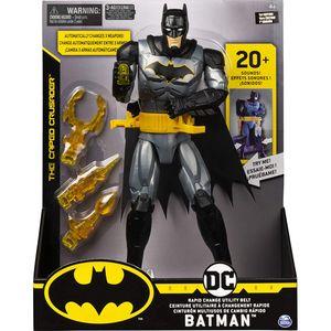 Spin Master 13474 BAT Batman - 30cm-Figur mit Waffengürtel