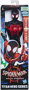 Hasbro E2346 Marvel Web Spider-Man schwarz Kid Arachnid Deluxe Figur 30cm Neu