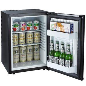 PKM HOTEL MATE Semi-Konduktor Kühlschrank Mini geräuschlos MC40  Büro schwarz