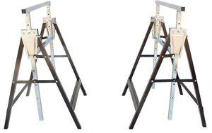 Arbeitsbock, höhenverstellbar, 2 Stück, 200kg pro Stützbock