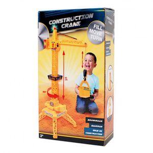 Construction Kinder Baukran Kran Krahn 63cm Kran Licht & Sound mit Fernbedienung
