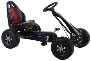 Kinder Go-Kart Volare Racing Car BigTretauto Gokart von 4-7 Jahre mit Luftreifen