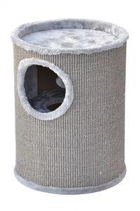 nanook Kratztonne Condo - mit Spielball - rundum Sisalgeflecht M 50 cm grau