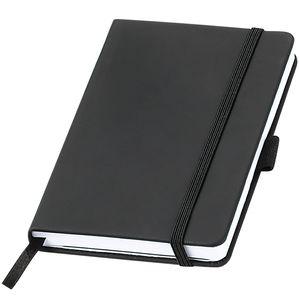 Notizbuch A6 Kariert - Agenda - Hardcover Einband zweifarbig, Dickes Papier naturfarben 80 Seiten, Tagebuch Schreibblock Notizblock Notizheft Business Journal