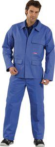 Größe 56 Herren Planam Hitze-/Schweisserschutz Jacke 400g/m²  kornblau Modell 1706
