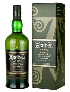 Ardbeg An Oa The Ultimate Islay Single Malt Scotch Whisky in Geschenkpackung | 46,6 % vol | 0,7 l