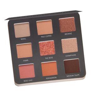 Lidschatten Palette Matt Glitzer Makeup Eyeshadow Palette Kosmetik Farbige Lidschattenpalette Farbe 03