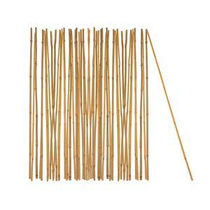 50x Pflanzstab Bambusstab 105 cm x 8 - 10 mm Bambus Rankhilfe Pflanzstab Tonkinstab 100% Naturproduk