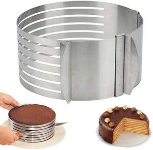 Edelstahl - Tortenheber Tortenschneider Schneidhilfe für Tortenboden - Kuchen Boden Heber Messer Tortenring