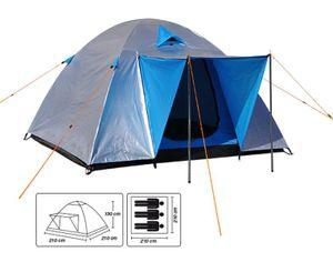 Iglu-Zelt Kuppelzelt Campingzelt Camping Festival Zelt für 3 Personen