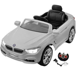vidaXL BMW Elektroauto mit Fernbedienung Kinderfahrzeug Weiß