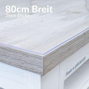 Tischschutzfolie 2mm 120x80cm Tischschutz Schutzfolie Auflage