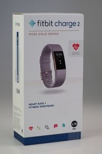Fitbit Charge 2 large         lavendel/rose gold