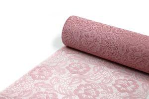Tischläufer Spitze Sizolace Rose 30cm x 5m altrosa