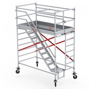 Altrex Treppengerüst RS Tower 53-S Aluminium Safe-Quick mit Fiber-Deck Plattform 4,20m AH 1,35x1,85m