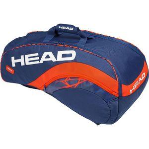 HEAD Radical 9R Supercombi Tennistasche Blau Orange