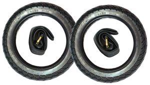"""2x 12"""" CBK-MS® Leichtlauf Reifen + Schlauch 12 1/2 x 2 1/4  = 62-203"""