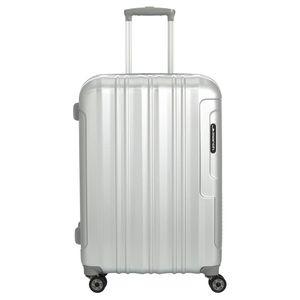 March 15 Cosmopolitan Special Edition 4-Rollen-Trolley 64 cm silver alu