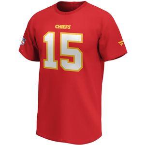 NFL Kansas City Chiefs Shirt #15 Patrick Mahomes