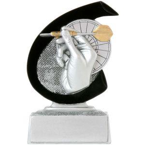 Dart Pokal ARLES Trophäe Preis 10 cm hoch  Minipokal