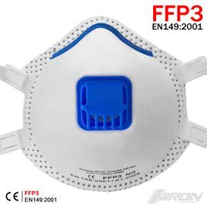 Atemschutzmaske FFP3 Maske mit Ventil Staubmaske Feinstaubmaske Atemschutz Maske
